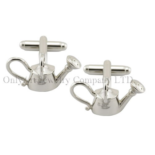 NEW wholesale accessory nolvety teapot cufflink for men
