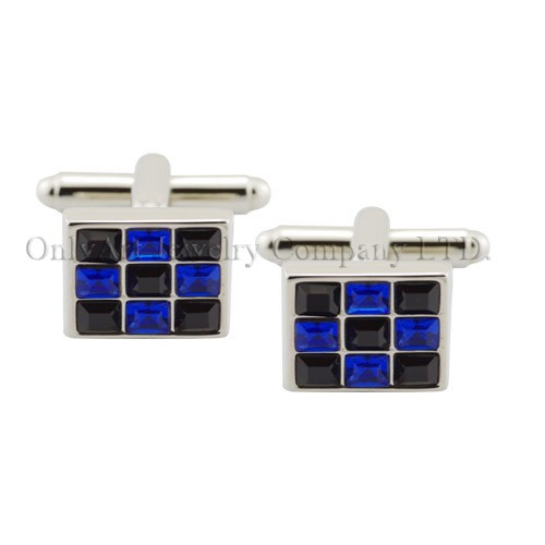 NEW wholesale accessory men shirt crystal cufflinks & tie clip