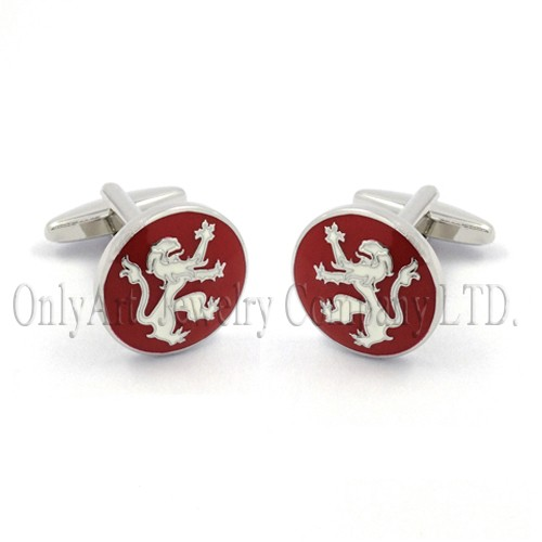2014 the newest delicate shiny polish brass cuff links
