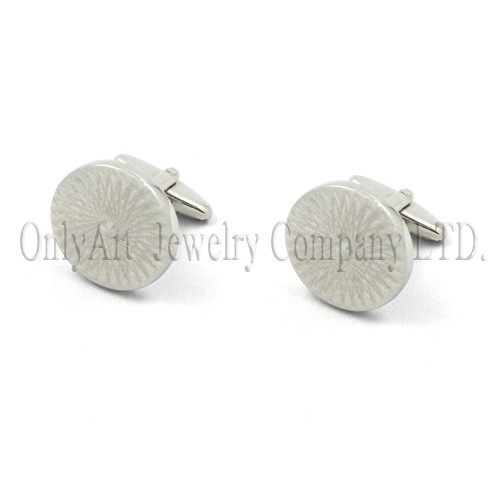professional supplier sixpenny silver 925 or brass cuff links