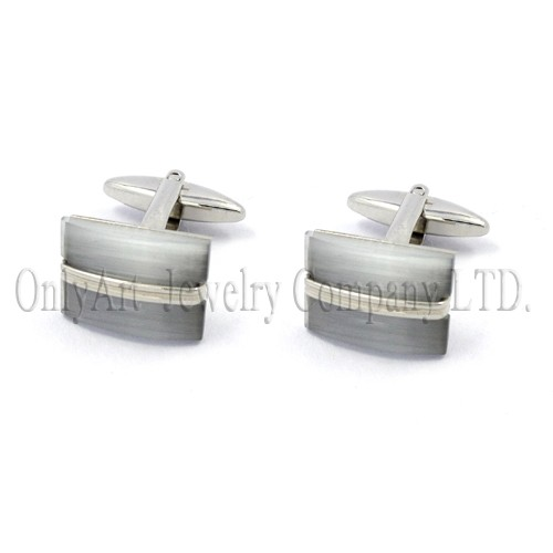 cutting price with stones setting on silver 925 or brass cuff links