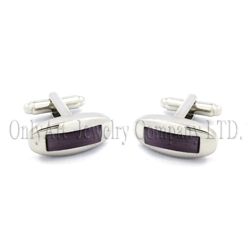 beautiful and good looking concise brass cufflink
