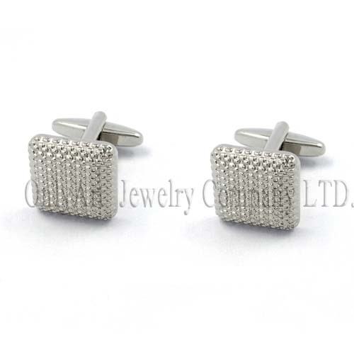 well design and eco-friendly scratch resistant cufflink