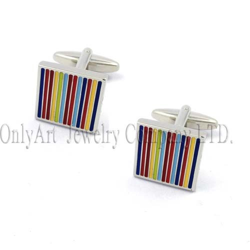 warm color and headline-grabbing cheap and fine cufflink