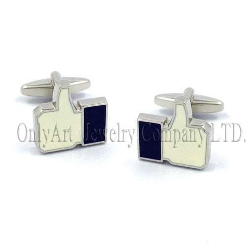 sterling silver & brass cufflink accessory jewellery OACL0461