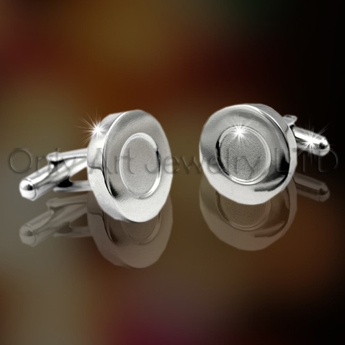 316L Steel Cufflinks OASCL0003