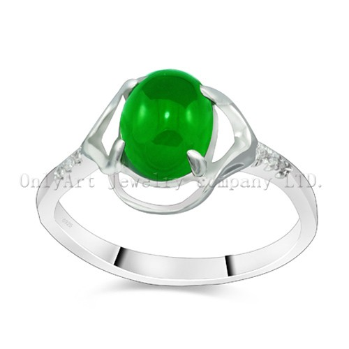 Luxury And Gorgeous Gemstone Sterling Ring For Women