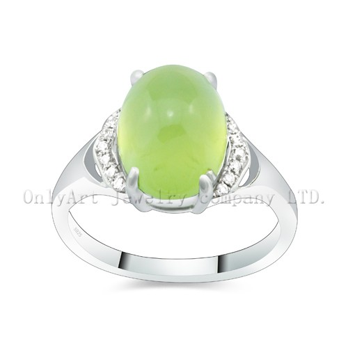 Fashion Nature GemstoneJewelry Sterling Silver 925 Wedding Ring