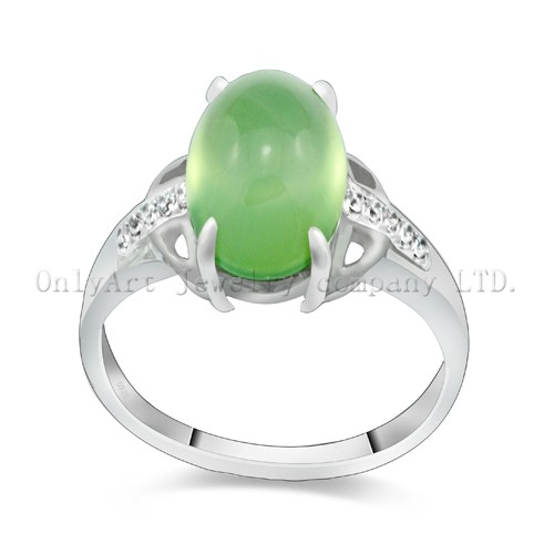 Factory Price Gemstone Sterling Silver 925 Ring