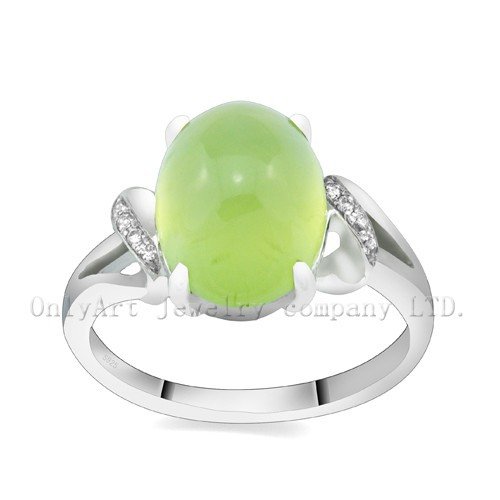 Factory Price Fashion Jewelry Gemstone  Sterling Silver 925 Ring