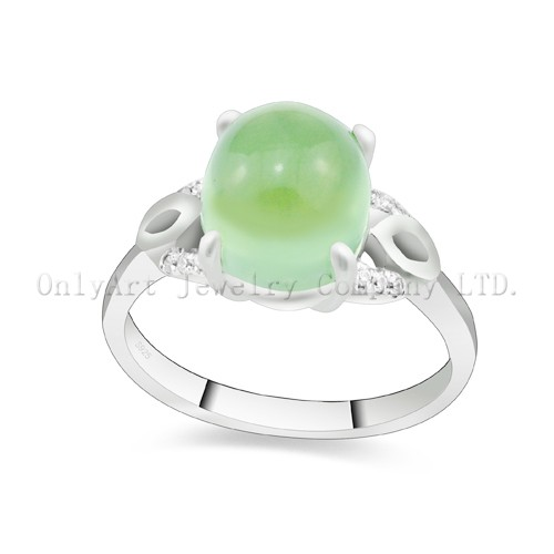 Factory Price Fashion Gemstone Sterling Silver 925 Ring