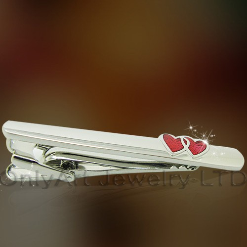 cool shirt accessory brass or silver tie clips