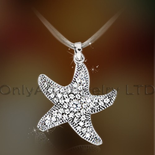 Sterling 925 Silver Starfish Pendant OAP0045