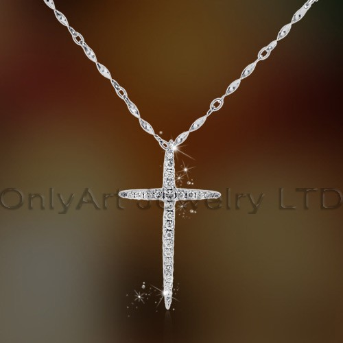Fashion Cute Deer Sterling Silver Pendant With Cz Stone Paypal Acceptable OAP0058