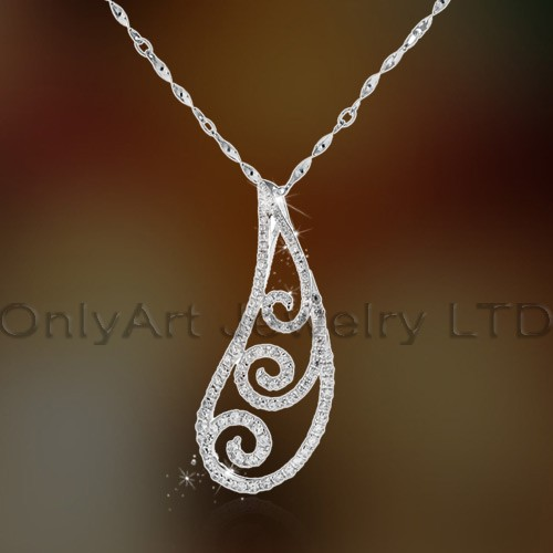 Wholesale Fly Bird Beautiful Cz Set Silver Pendant,High Luxury Fahsion Jewelry OAP0067
