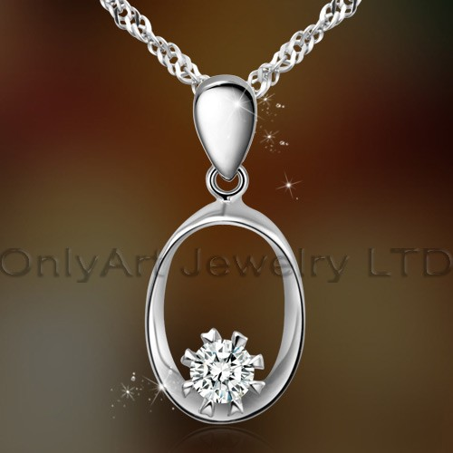 2013 latest design high quality 925sterling silver pendant jewelry with prompt delivery paypal accep