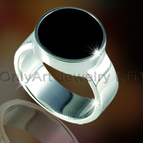 Newest 925 Sterling Silver 3D Design Ring OAR0004