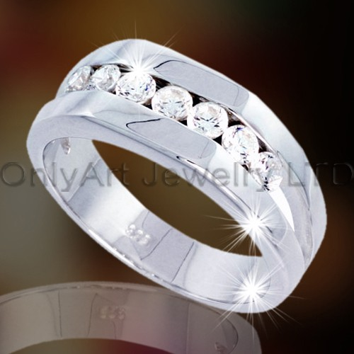 Sterling Silver Ring for Men OAR0031