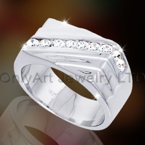 925 Silver Mens Jewellery OAR0066