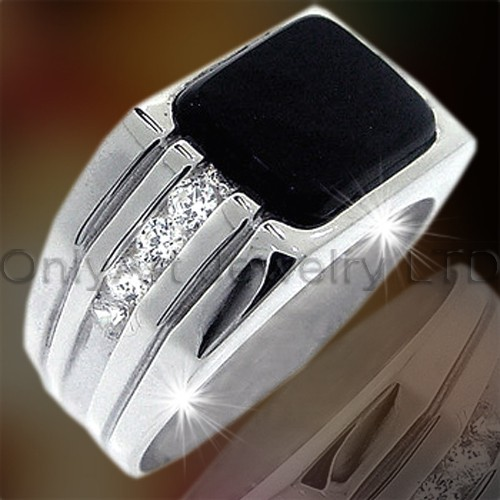 Big Stone Silver Ring OAR0094