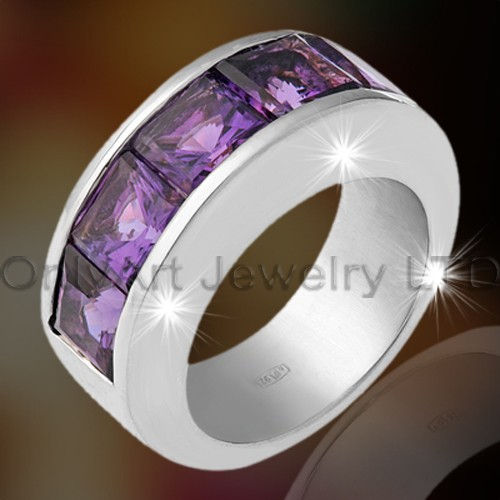 Elegant Wedding Silver Ring OAR0101