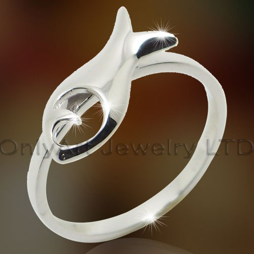 Fish Design Wedding Rings OAR0133