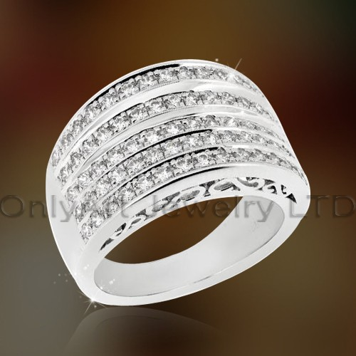 925 Fashion Sterling Silver Lady Ring OAR0186