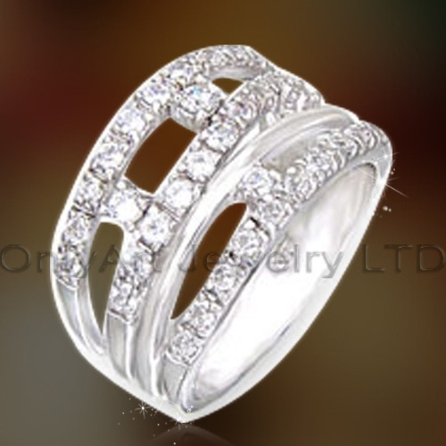 Fast Delivery Wedding Ring Sets OAR0164