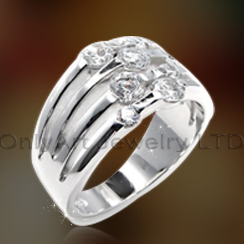 Cheap Jewelry Cz Silver Rings OAR0165