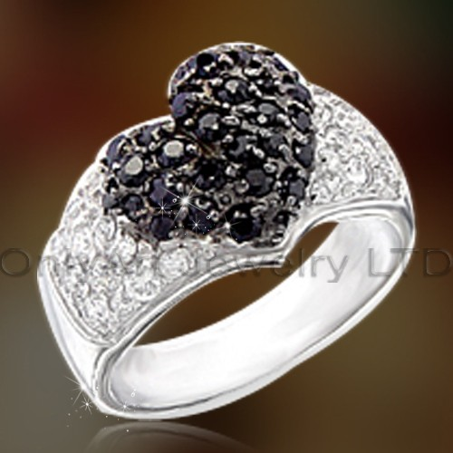 Hot Selling Sterling Silver Rings With Cz OAR0166