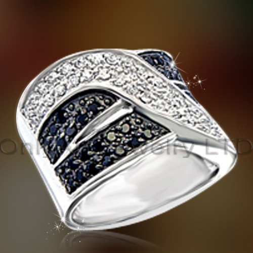 Mens Gift Big Sterling Silver Ring OAR0174