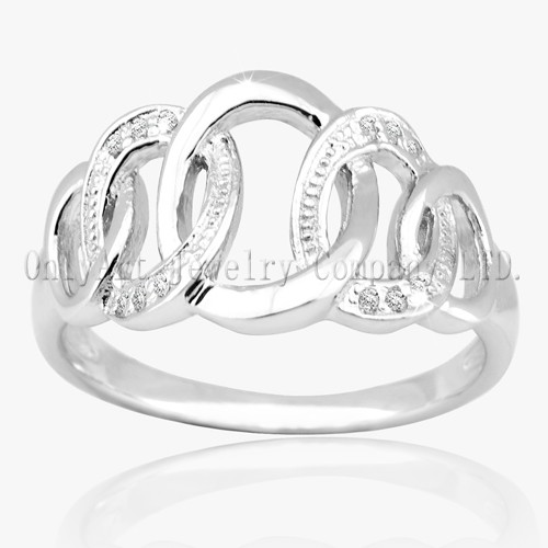 Fashinable 925 Sterling Silver Jewellery Ring