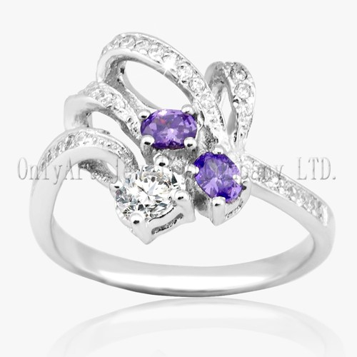 Hot Sales Jewel 925 Sterling Silver Ring