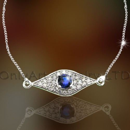 925 Silver Necklace Pendant OAN0005