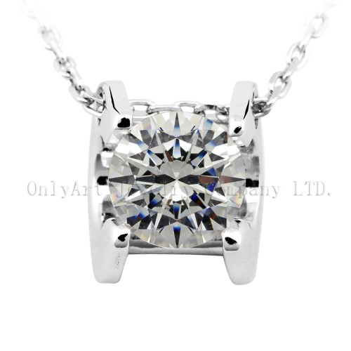 Fashion Design 925 Sterling Silver Necklace Jewelry