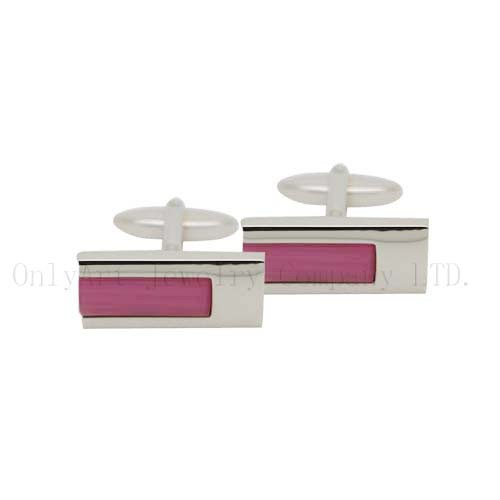 samall order PNP with stone inlaid brass cufflinks