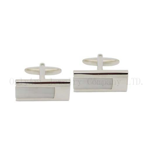 wholesale fashion brass cufflinks for common paypal acceptable