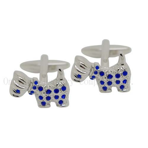 cheap cute animal brass cufflinks for unisex acceptable