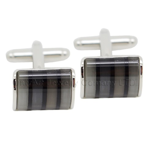 fashion wholesale mosaic cufflinks for men with paypal acceptable