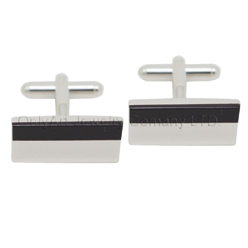 special design two tones cufflinks with paypal acceptable