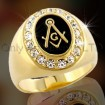 925 Silver Masonic Custom Ring OACR0003
