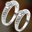 best valentine jewelry hot sell Chinese couple cz ring with fast delivery