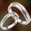fast delivery fashion valentine gift couple ring